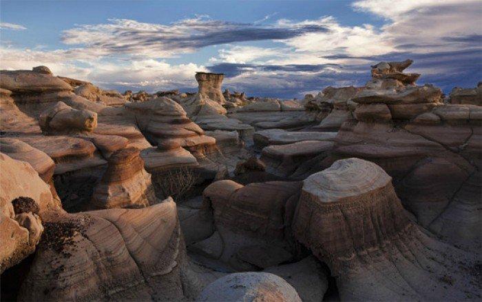 Красивые пейзажи природы. Фото - США, Бисти