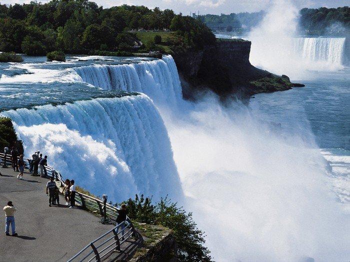 Онлайн веб-камеры мира - Ниагарский водопад