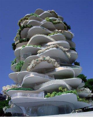 Дом-кактус