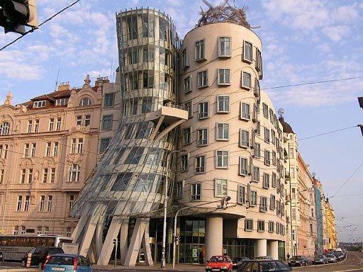 Вальсующий дом в Праге