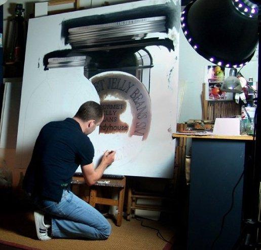 Картины испанского фотореалиста Педро Кампоса