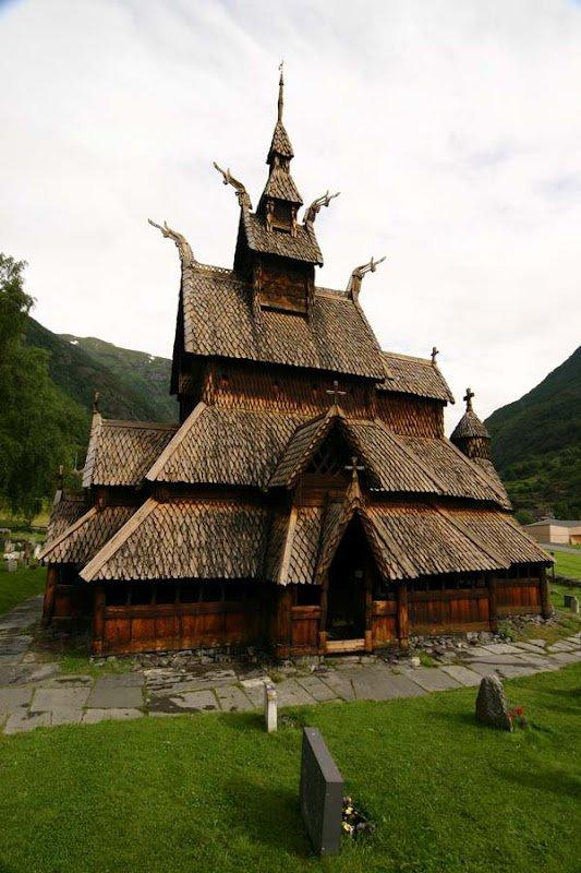 Ставкірка в норвезькій Боргунні