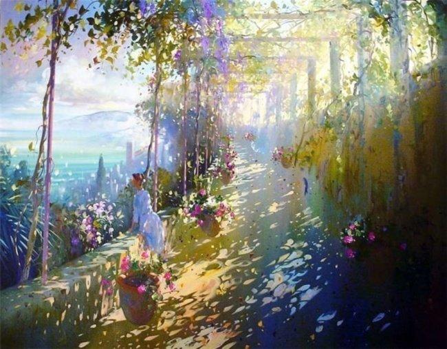 Картини-сонячні зайчики