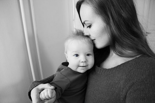 Адель Енерсон з донечкою Мілою