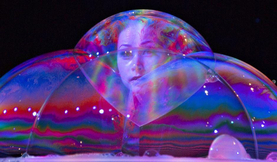 Шоу мыльных пузырей мастер класс пошагово #3