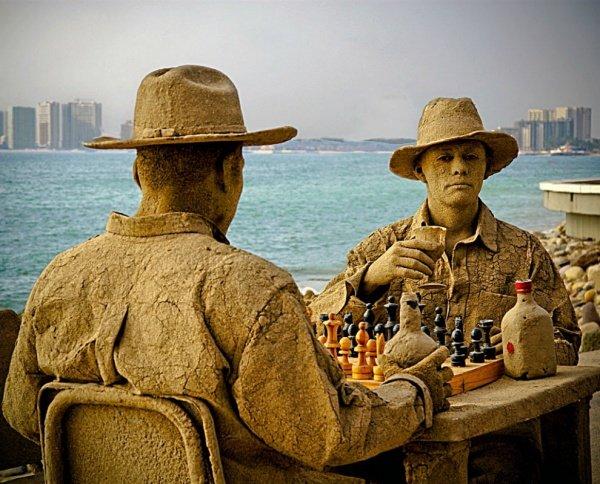 «Шахматисты» в Мексике.