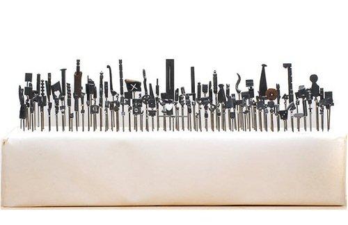 Далтон Гетти, скульптуры из простого карандаша