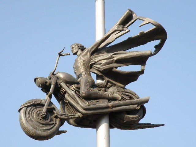 Пам'ятник загиблим байкерам (Біла Церква)