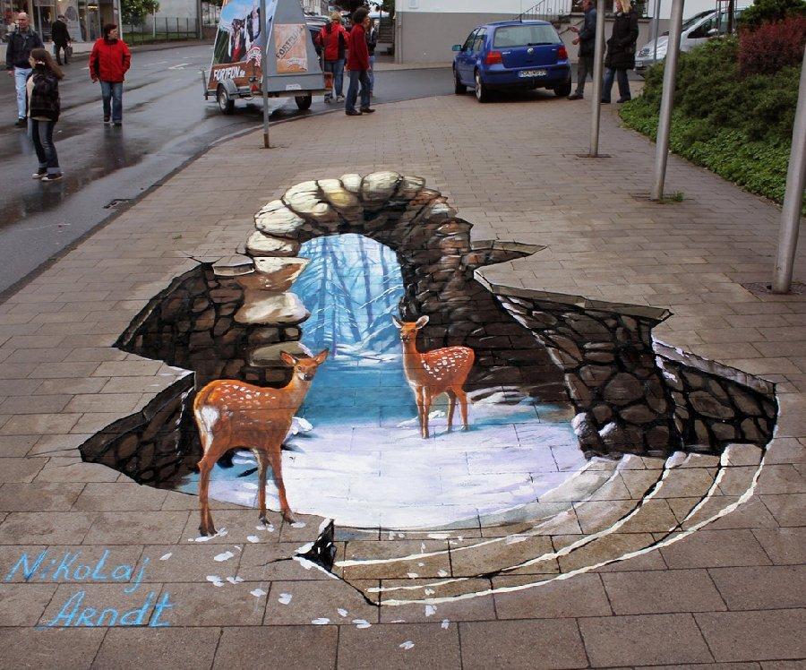 3D-малюнки від Миколи Арндта