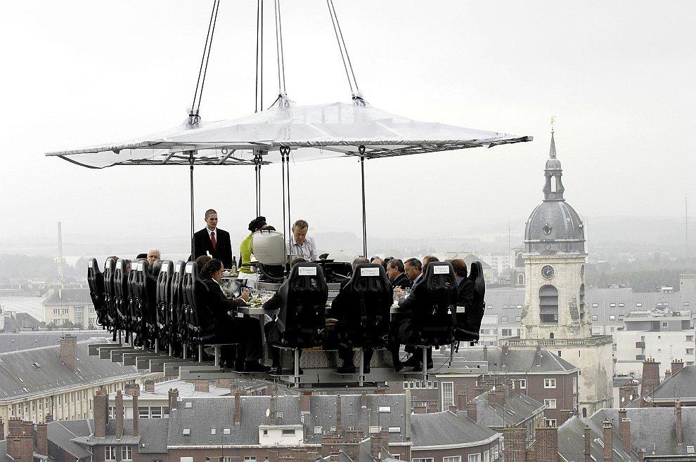 Ресторан в небесах