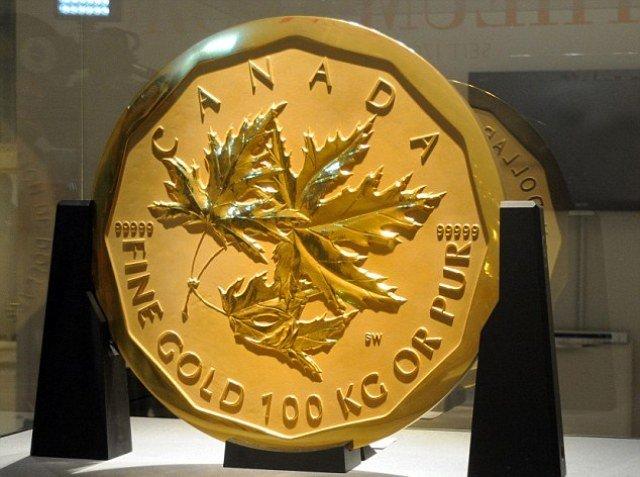 Самая большая монета до 2011 года