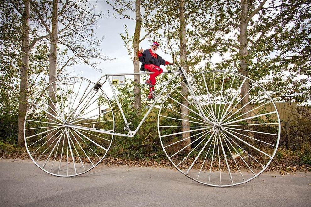 Найбільший велосипед