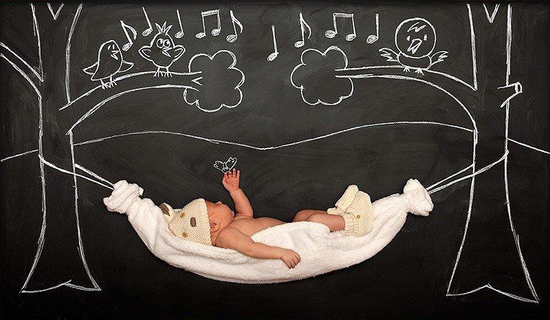 Креативні фото немовляти від Анни Ефтімі