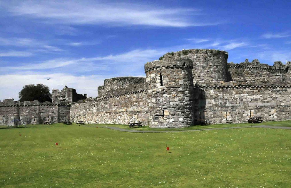 Самые красивые замки мира. Рисунки замков.