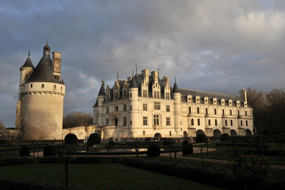 Самые красивые замки. Интересные названия замков. Шенонсо.