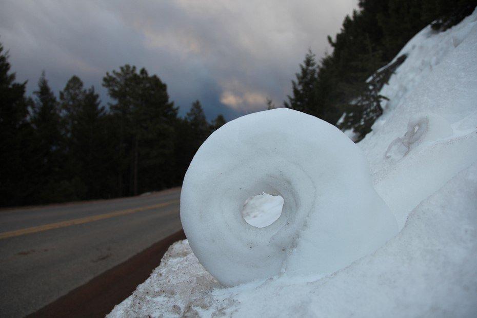 Снігові рулони