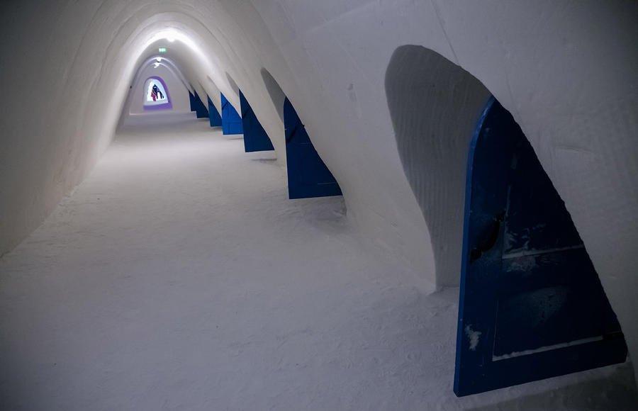 Сніговий замок у Кемі/Снежный дворец в Кеми