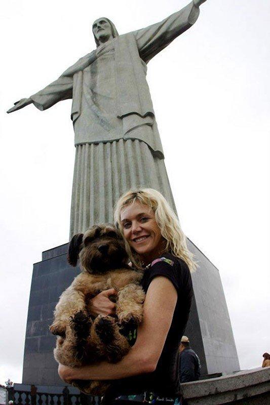 Удивительные животные. Оскар - собака путешественник, фото 7