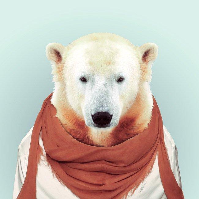 Зоопортрети ведмідь