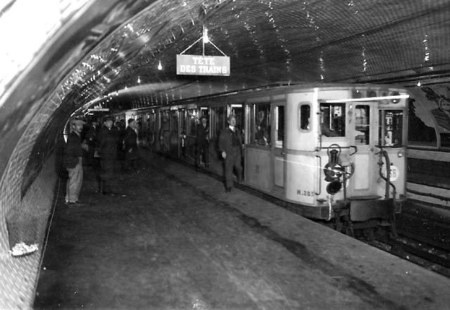 Первое метро во Франции