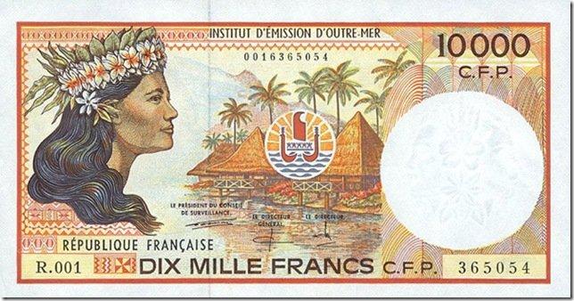 Французький тихоокеанський франк