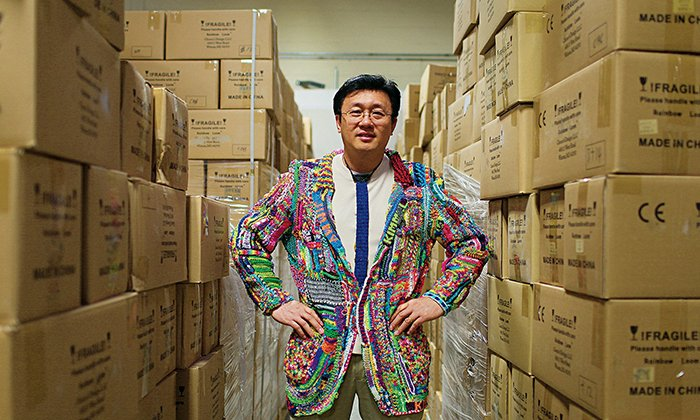 Плетение из резинок - изобретатель Чонг Чун Нг