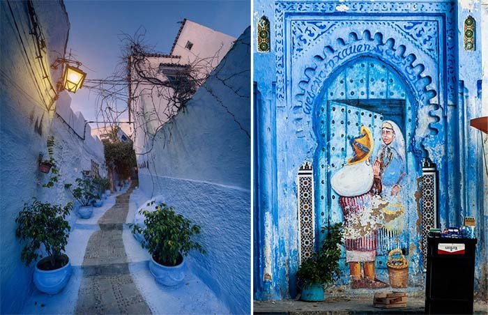 Шефшауен — голубой город Марокко, фото 3