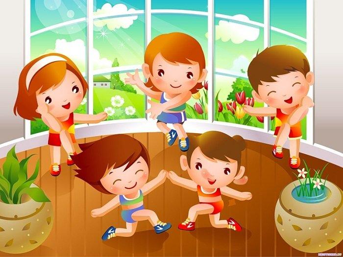 Утренняя гимнастика для детей 7-9 лет