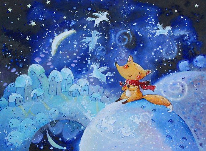 Дитячі вірші про зиму: Перший сніг