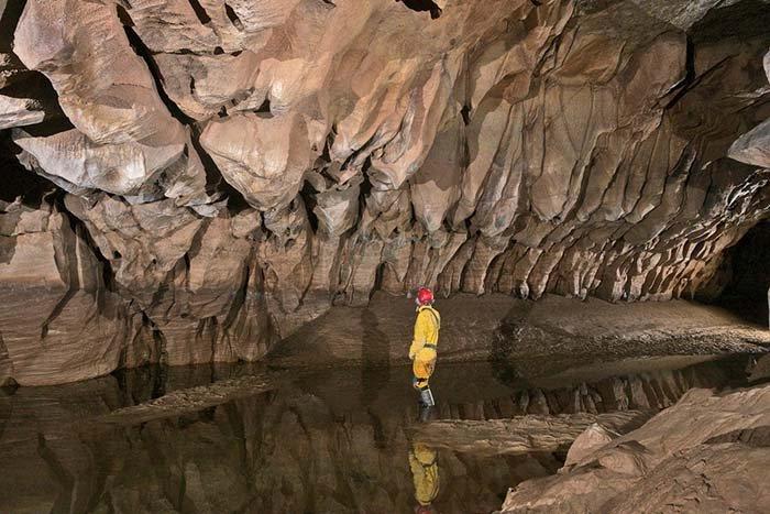 Печера Крубера-Вороняча — найглибша печера в світі, фото 9